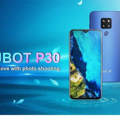 €105 with coupon for CUBOT P30 4G Phablet 4GB RAM 64GB ROM – Black from GEARBEST