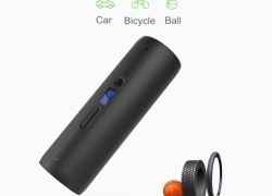 €37 with coupon for CYCPLUS A5 150PSI Intelligent Tyre Inflator 2000mAh Power Bank LCD Display LED Emergency Flashlight Air Pump for Bicycle/ Car/ Motorcycle/Inflatable Toys/Ball from BANGGOOD
