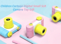 $28 with coupon for Children Cartoon Digital Small SLR Camera Toy Gift from GearBest