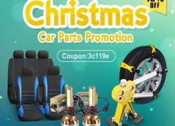 10% OFF Christmas Sale for Car Accessories from BANGGOOD TECHNOLOGY CO., LIMITED
