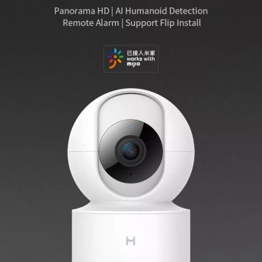 € 21 s kuponom za [International Version] Chuangmi Xiaobai H.265 1080P Smart Home IP kamera EU utikač 360 ° PTZ AI Detection WIFI sigurnosni monitor Xiaomi Eco-sustava iz tvrtke BANGGOOD