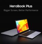 € 390 com cupom para [Nova atualização] Chuwi HeroBook Plus 15.6 polegadas Intel Gemini Lake J4125 2.7GHz 12GB LPDDR4X 256G SSD 2.0MP Câmera 38Wh Bateria Notebook da BANGGOOD