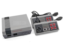 $19 with coupon for Classic Retro Game Console – Upgraded  –  GRAY from GearBest