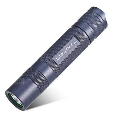 $ 8 với phiếu giảm giá cho Convoy S2 + LED Flashlight - GRAY từ GearBest