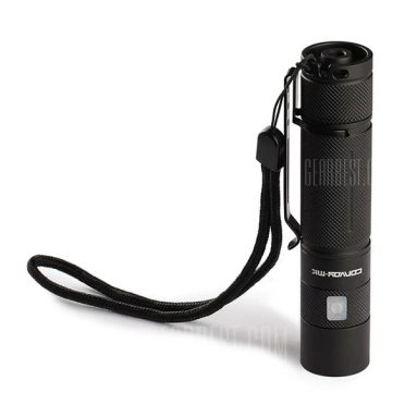 $15 with coupon for Convoy S9 CREE XML2 LED Flashlight Micro USB 4 Modes  –  NATURAL WHITE LIGHT 5000K  BLACK from BANGGOOD