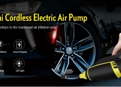 $39 with coupon for Cordless Handheld Mini Electric Car Air Pump from GearBest