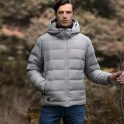 € 84 مع كوبون لـ Cotton Smith Smart Intelligent Heating Goose Down Jacket من Xiaomi Youpin USB شحن كهربائي من BANGGOOD