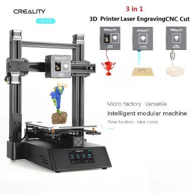448 евро с купоном на 3D-принтер Creality 01D® CP-3 1-в-3 DIY EU CZ ES СКЛАД от BANGGOOD
