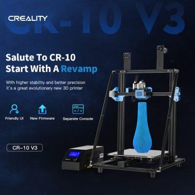 € 388 dengan kupon untuk Creality 3D® CR-10 V3 Upgrade 3D Printer dari gudang EU ES BANGGOOD