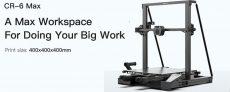 $869 with coupon for Creality 3D® CR-6 MAX 3D Printer Kit from BANGGOOD