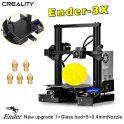 € 210 với phiếu giảm giá cho Creality 3D® Phiên bản tùy chỉnh Ender-3X Pro / Ender-3Xs Pro V-slot Prusa I3 3D Máy in 220x220x250mm Kích thước in với nhãn dán có thể tháo rời / Tấm kính từ