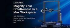 223 € с купоном на 3D-принтер Creality 3D® Ender-3 MAX со склада BANGGOOD в ЕС, Чехия, ЕС / Австралия / Китай