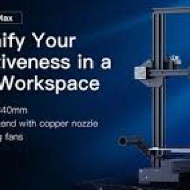 € 229 com cupom para Creality Ender-3 Max 3D Printer Support Silent Printing do armazém EU GER TOMTOP