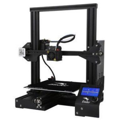 € 177 क्रिएटिटी 3D® के लिए कूपन के साथ Ender-3 वी-स्लॉट Prusa I3 DIY 3D प्रिंटर किट बैंगगुड से