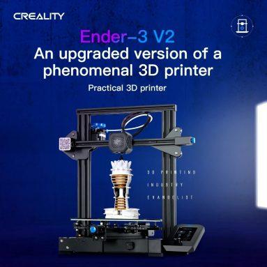 € 203 với phiếu giảm giá cho Bộ máy in 3D Creality 3D Ender-2 V3 từ kho TOMTOP của ĐỨC