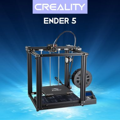 242 € με κουπόνι για Creality 3D® Ender-5 DIY 3D Printer Kit Kit 220 * 220 * 300mm Μέγεθος εκτύπωσης με βιογραφικό εκτύπωσης Dual Y-Axis Motor Soft Magnetic Sticker Support Off-line Print from EU CZ WAREHOUSE from BANGGOOD