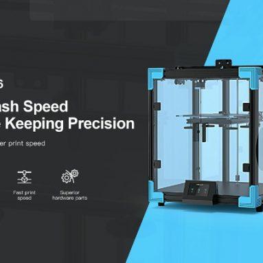 € 424 com cupom para Kit de Faça Você Mesmo para Impressora 3D Ender-6 Creality 3D do armazém EU GER TOMTOP