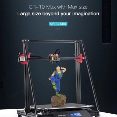 € 809 με κουπόνι για το Creality CR - 10 Max 450 x 450 x 470mm 3D Εκτυπωτής - Μαύρο EU Plug από το GEARBEST