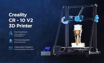 € 416 s kupónem pro Creality CR - 10 V2 Upgrade Obousměrná sphenoidní tiskárna 3D Ultra-tichá - Černá EU zástrčka od GEARBEST