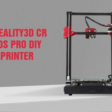 €501 with coupon for Creality CR – 10S Pro 300 x 300 x 400 3D Printer with 3D Viewer – Black EU Plug + 3D Viewer	from GEARBEST