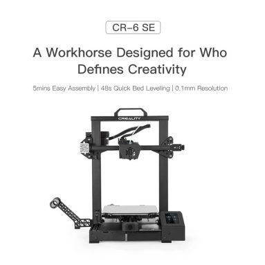 271 € mit Gutschein für Creality CR-6 SE 3D-Drucker DIY-Kit Verbesserte hochpräzise Druckgröße 235 * 235 * 250 mm vom EU GER-Lager TOMTOP