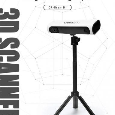 € 599 com cupom para scanner 01D portátil Creality CR-SCAN3 da TOMTOP