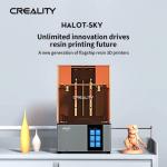 790 € cu cupon pentru imprimantă originală Creality HALOT-SKY Imprimantă 3D Fotocurare UV Imprimantă 3D cu rășină LCD de la TOMTOP
