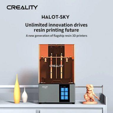 € 790 com cupom para Impressora 3D Creality HALOT-SKY 3D Original UV Fotocura Resina LCD Impressora XNUMXD da TOMTOP