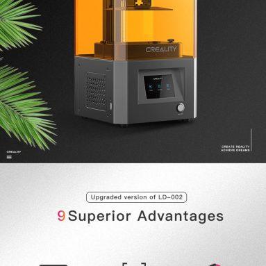 € 159 עם קופון למדפסת 002D שרף LCD LD-3R ממחסן האיחוד האירופי TOMTOP