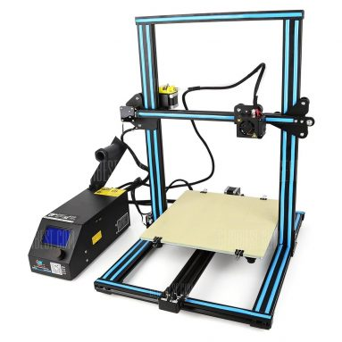 $339 with coupon for Creality3D CR – 10 3D Printer  –  US PLUG  BLUE from GearBest