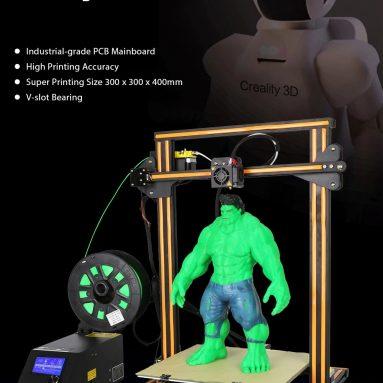 $ 425 με κουπόνι για Creality3D CR - 10S 3D Επιτραπέζιος DIY Εκτυπωτής - ΚΑΦΕ ΚΑΙ ΜΑΥΡΟ US PLUG UPGRADE VERSION από GearBest