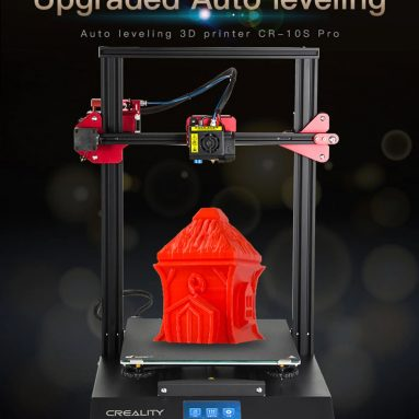 €501 with coupon for Creality3D CR – 10S Pro 300 x 300 x 400 3D Printer from Gearbest