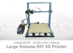 $609 with coupon for Creality3D CR – 10S5 500 x 500 x 500mm 3D Printer DIY Kit – BLUE AND BLACK EU EU warehouse from GearBest