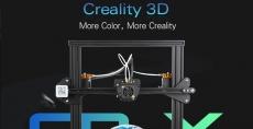 € 420 s kupónem pro Creality3D CR - X Rychlá montáž tiskárny 3D 300 x 300 x 400mm - BLACK EU Plug EU sklad od firmy GearBest
