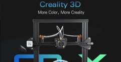 €538 with coupon for Creality3D CR – X Quickly Assemble 3D Printer 300 x 300 x 400mm – BLACK EU Plug EU warehouse from GearBest