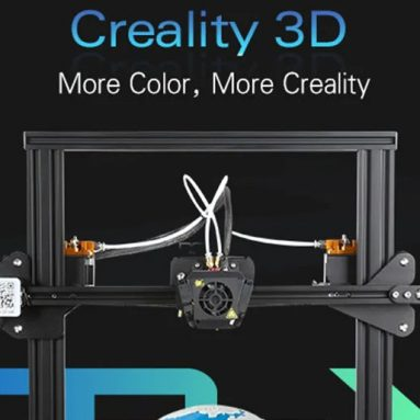 €420 with coupon for Creality3D CR – X Quickly Assemble 3D Printer 300 x 300 x 400mm – BLACK EU Plug EU warehouse from GearBest