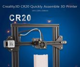 $379 with coupon for Creality3D CR20 Quickly Assemble 3D Printer – BLACK EU / US PLUG ( 3-PIN ) from GEARBEST