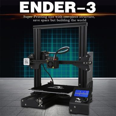 €151 with coupon for Creality 3D Ender-3 High-precision DIY 3D Printer Kit – GERMANY warehouse from TOMTOP