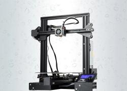 € 203 s kupónom pre Creality3D Ender - 3 pre vysoko presnú 3D tlačiareň - BLACK US PLUG (3-PIN) od spoločnosti GearBest