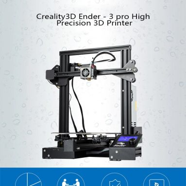 €202 with coupon for Creality3D Ender – 3 pro High Precision 3D Printer – BLACK EU PLUG from GearBest