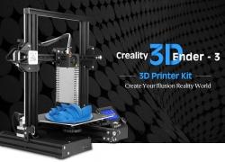 $ 199 dengan kupon untuk Creality3D Ender - 3X (Ender - 3 Versi yang Ditingkatkan) 3D Printer dengan Tempat Tidur Kaca Tempered + 5pcs Nozel 0.4mm - Black EU Plug / Dengan Tempat Tidur Kaca / Dengan Tempat Tidur Kaca + 5 x Nozzle dari GEARBEST