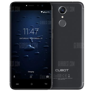 $87 with coupon for Cubot Note Plus 4G Smartphone  –  BLUE from GearBest