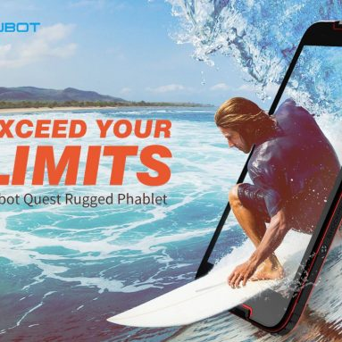 $139 with coupon for Cubot Quest 5.5 inch 4G Sports Phablet Rugged Smartphone – Red from GEARBEST
