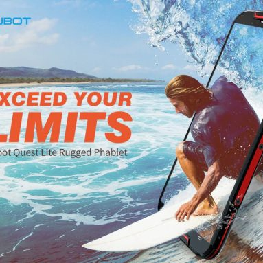 $ 117 na may kupon para sa Cubot Quest Lite 5.0 inch 4G Quad Core Sports Phablet Rugged Smartphone - Pula mula sa GEARBEST