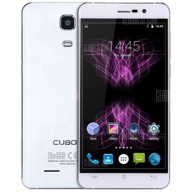 $99 with coupon for Cubot X16 4G Smartphone  –  WHITE from GearBest