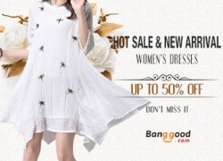 Up to 50% OFF for Hot Sale & New Arrival Women's Dress from BANGGOOD TECHNOLOGY CO., LIMITED