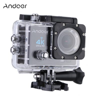 65% OFF Andoer Q3H 170¡ãWide Wifi Action Camera, giới hạn ưu đãi $ 32.99 từ TOMTOP Technology Co., Ltd