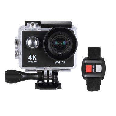 $ 6 giảm giá cho 4K 25fps 1080P 60fps Action Camera, miễn phí vận chuyển $ 46.25 (Mã: CH9RD6) từ TOMTOP Technology Co., Ltd