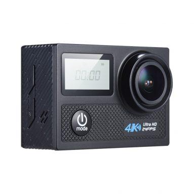 $ 10 Off 4K 24fps WiFi Thể Thao Hành Động Camera 20MP 1080P 60fps Con Quay Hồi Chuyển Chống rung Hỗ Trợ, miễn phí vận chuyển $ 62.99 (Mã: N5AC10) từ TOMTOP Technology Co., Ltd