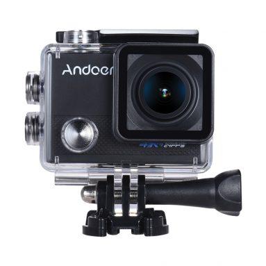 $ 15 OFF Andoer AN5000 4K 24fps Máy ảnh thể thao WiFi, miễn phí vận chuyển $ 41.29 (Mã: ADCM15) từ TOMTOP Technology Co., Ltd